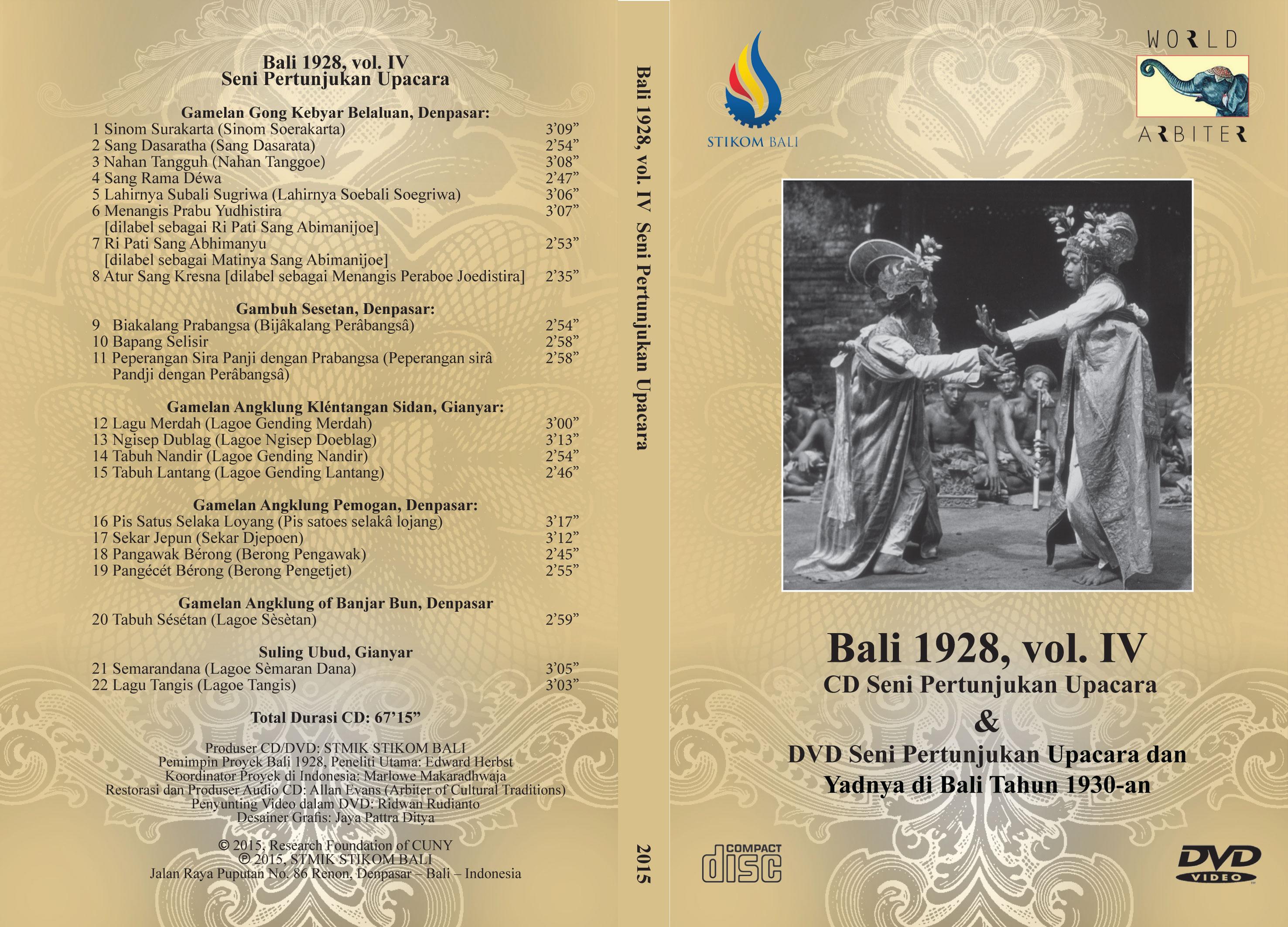 Bali-1928-Vol-IV
