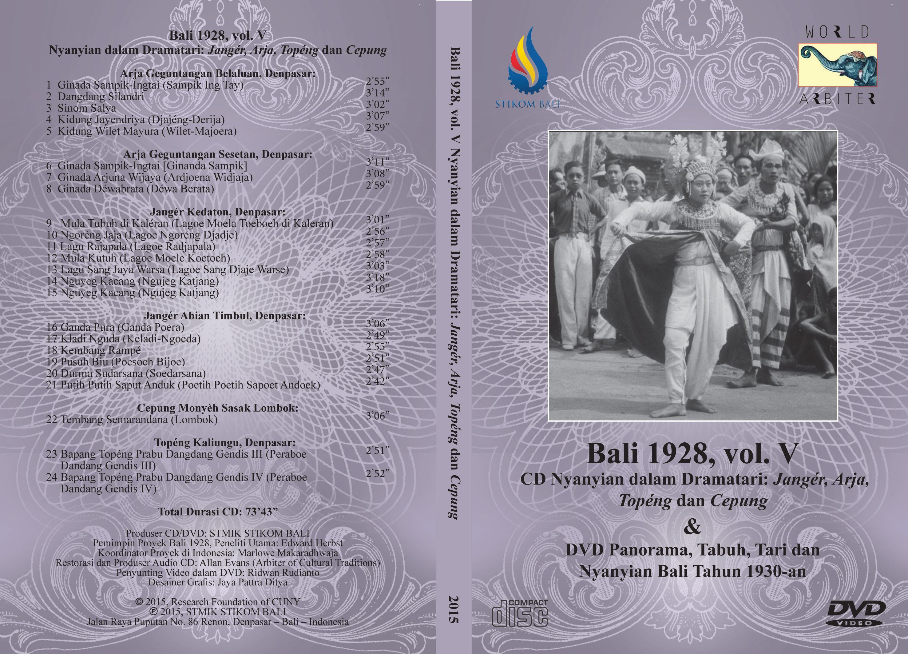 Bali-1928-Vol-V