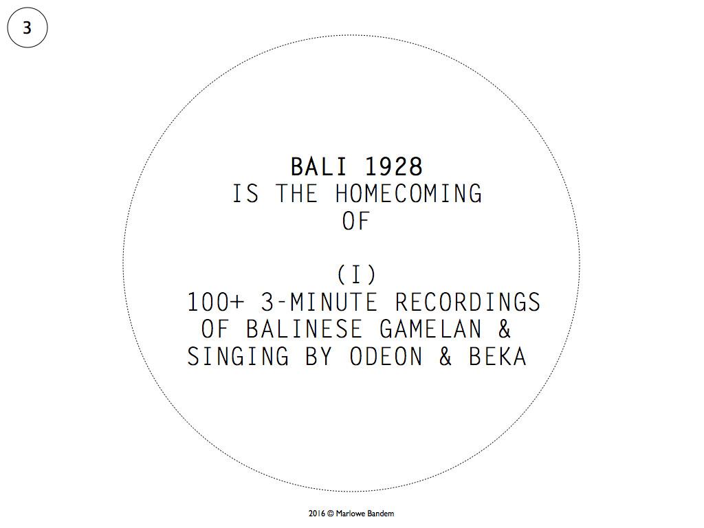 Marlowe Bandem 20 x 20 Bali 1928.003-001